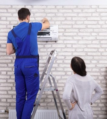 Technician Repairing