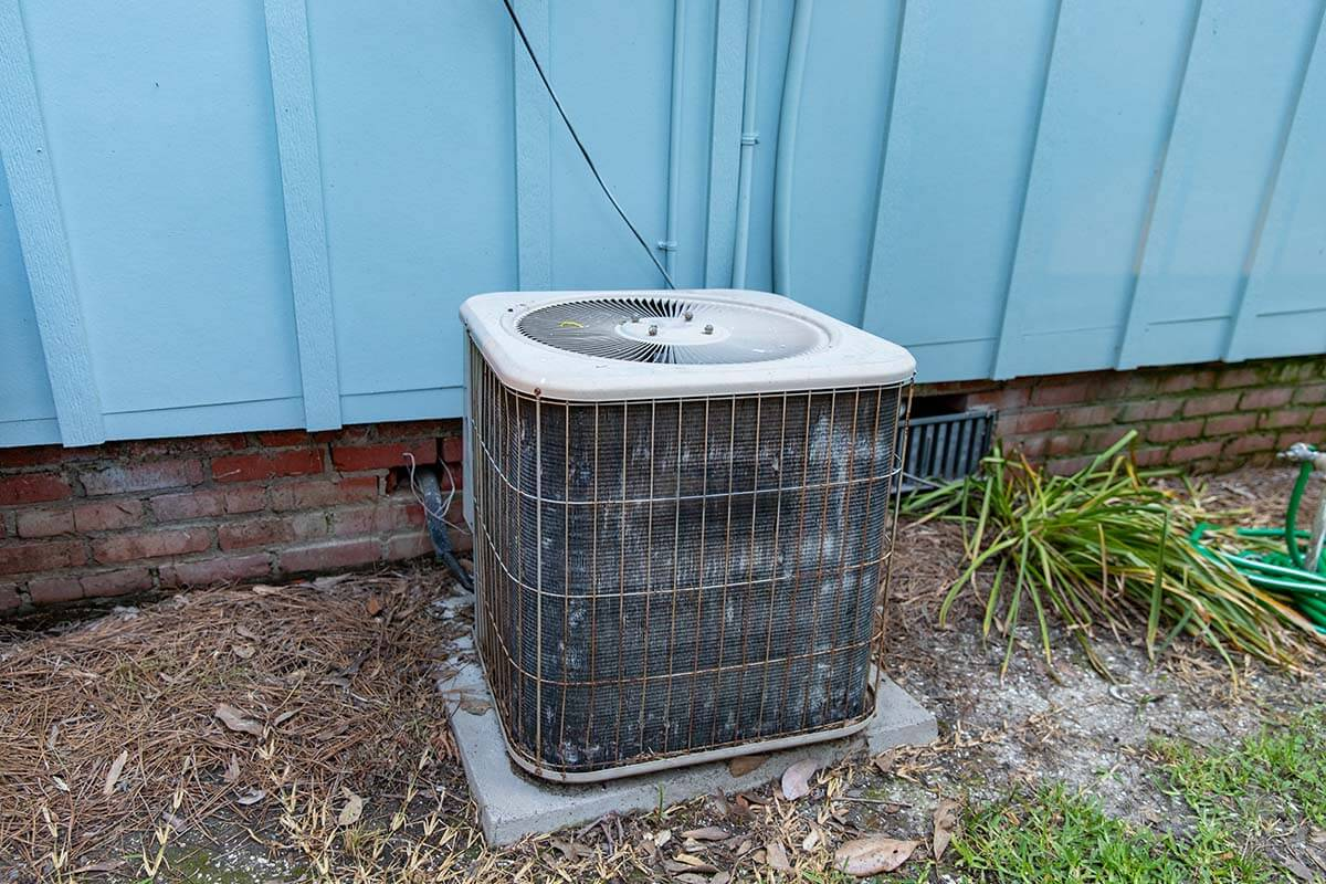old-hvac-unit-outdoors
