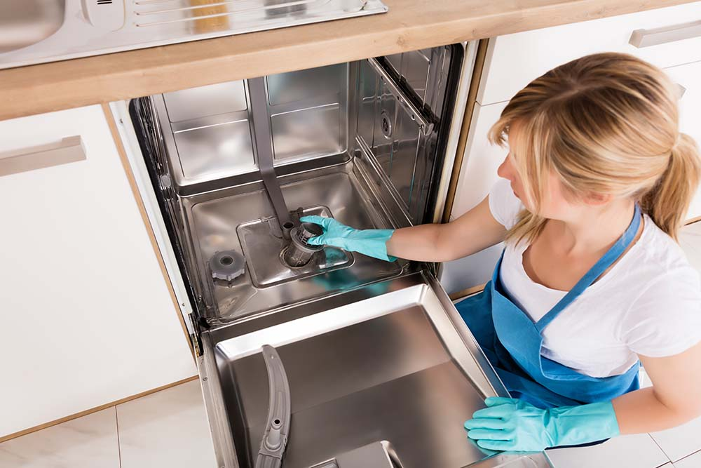 woman-cleaning-dishwasher